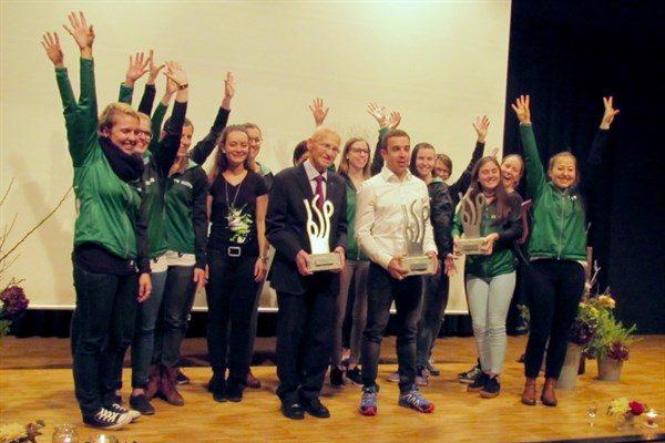 Gymnastikteam gewinnt 1. Buchser Sportpreis