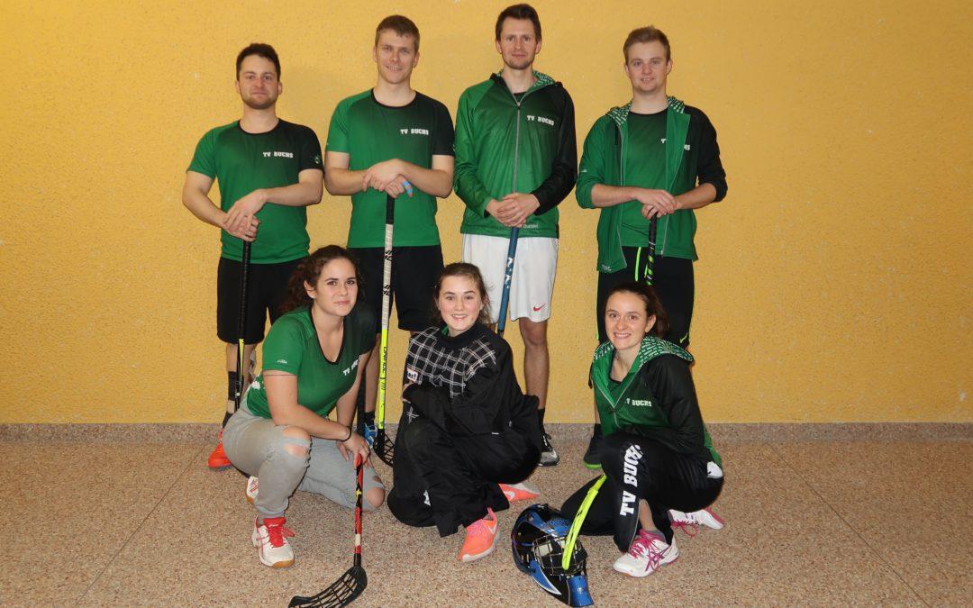3. Rang für Buchser Unihockey Mixed-Team