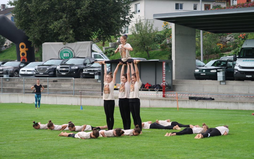 4. Rang am Jugendturnfest in Bütschwil