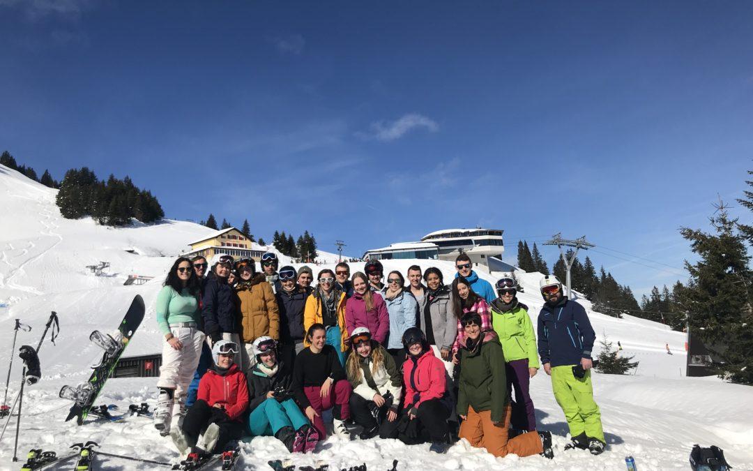 Skiweekend bei Traumwetter